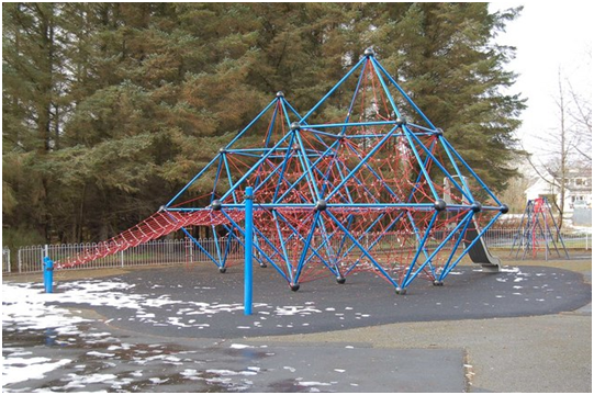Surfacing options for your climbing frame